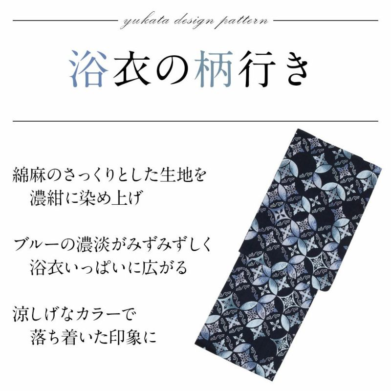 龍村美術きものブランドのお仕立て上がり浴衣