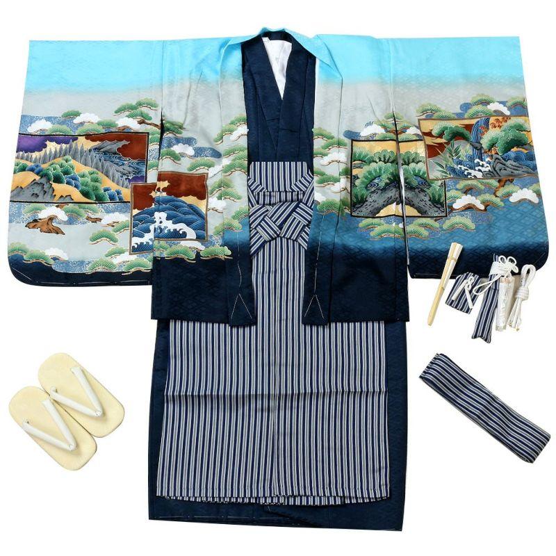 男の子用羽織袴セット内容