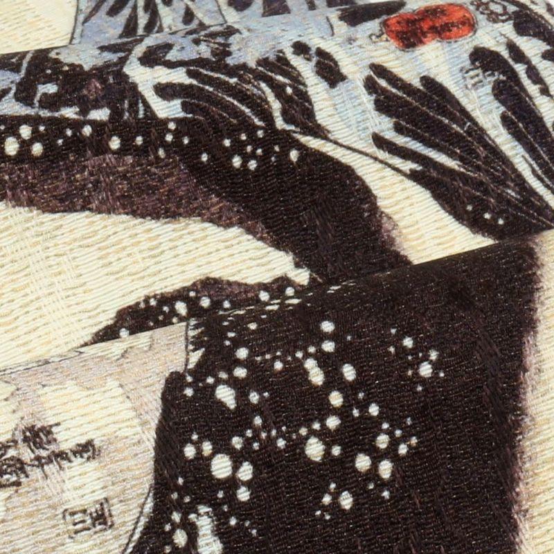 アーティスティックな正絹西陣半巾帯
